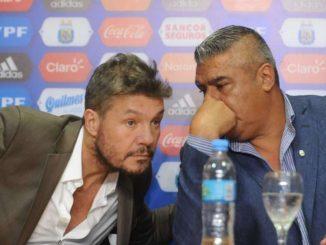 Tinelli renunció a su cargo en la AFA y pidió licencia en San Lorenzo